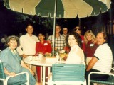 Ron-Briggs-and-his-wife-in-Red-left-center-Joe-Ballew-in-plaid-shirt-Vic-Poor-over-his-shoulder